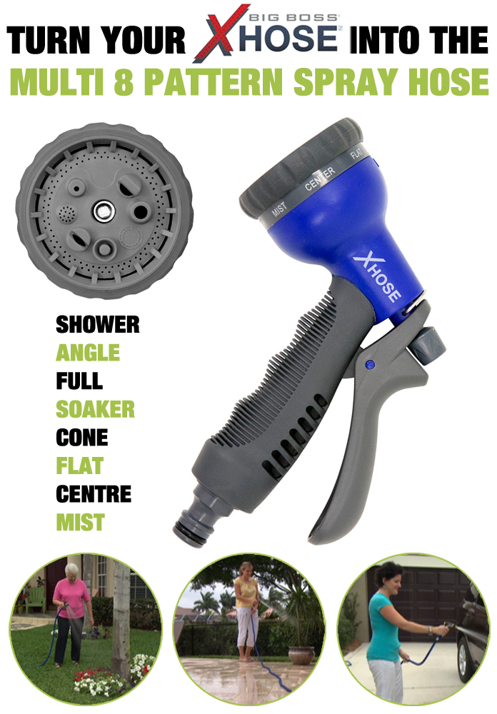 XHose+On+TV ... Speed Spray Nozzle Connects Garden Hose & XHOSE As ...